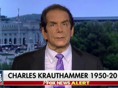 Charles Krauthammer is Being Properly Mourned Now, But Here is Where He Will Really Be Missed
