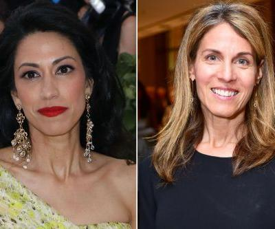 Huma Abedin and Caryn Zucker take in 'Ann'