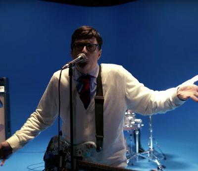 """Weird Al"" Is Rivers Cuomo in Weezer's Very Familiar Video for ""Africa"""