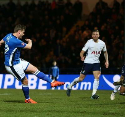 'This is every kid's dream' - Rochdale hero Davies overjoyed with Spurs draw