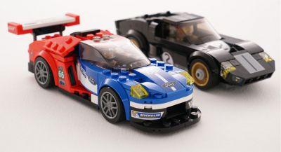 2016 Ford GT And GT40 Race Cars Get Immortalized In Lego