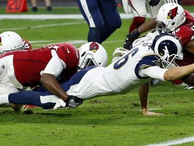 Goff, Rams beat Cardinals, solidify grip on NFC West