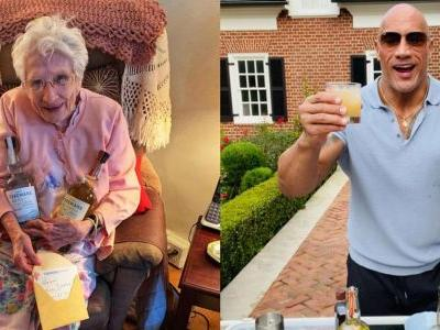 The Rock Sends 101-Year-Old Fan Free Birthday Tequila and Drinking Tips