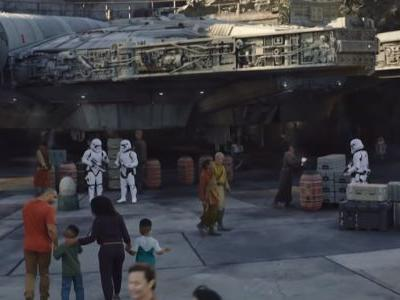 New Star Wars: Galaxy's Edge Image Reveals How Massive The Land Is