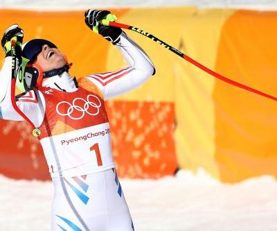 Lindsey Vonn won't medal in super-G thanks to late miscue