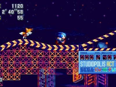 Sonic Mania Sells One Million Copies