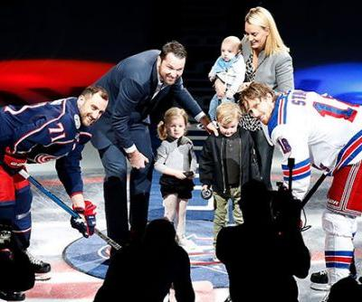Tortorella praises 'great pro' Nash as Blue Jackets honor winger