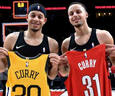 Curry brothers place 'high' stakes on 3-point contest battle