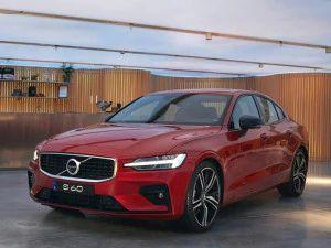 New Volvo S60 Unveiled In India BMW 3 Series Mercedes-Benz C-Class Rival To Launch In Q1 2021