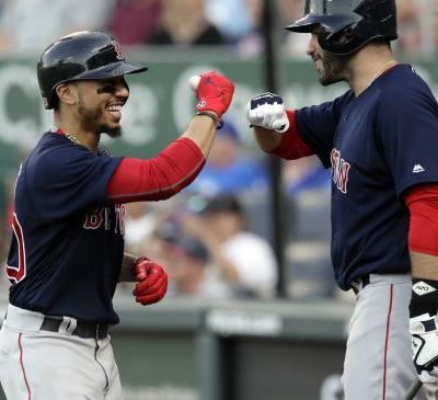 Betts, Martinez selected as starters for 2018 MLB All Star Game