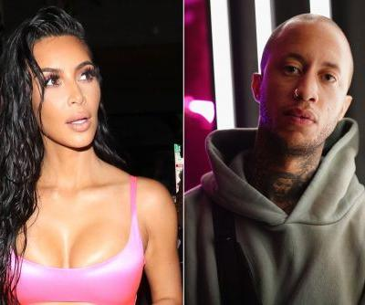 Kim K.'s photographer Marcus Hyde attends Kanye show after near-fatal crash