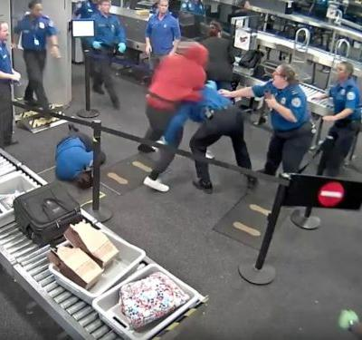 A 19-year-old injured five TSA agents at a Phoenix airport in a 'brazen physical attack'