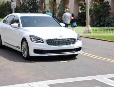 2019 Kia K900: It's Back and Better-Looking