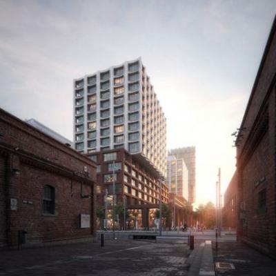 COBE Designs Affordable Housing Project for Downtown Toronto