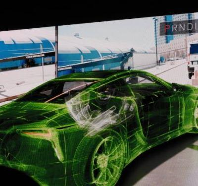 Watch Nvidia drive a real car using Black Panther-style VR