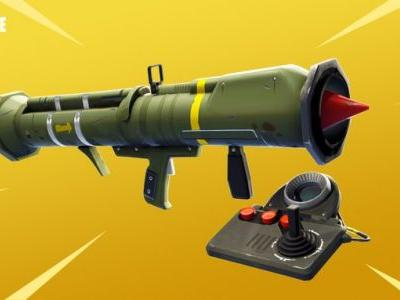 Fortnite's Guided Missile is going away for a while, weapon equip animations to be improved in future update