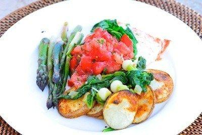 Grilled Veggies and Spring Farmers' Markets