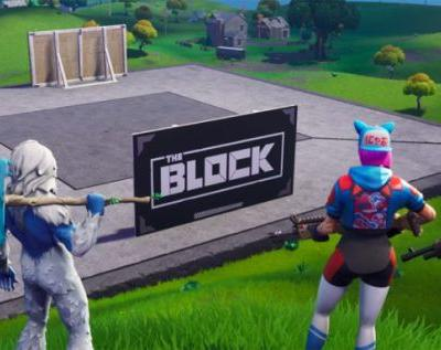 Fortnite adds 'The Block' over Risky Reels to showcase Creative maps
