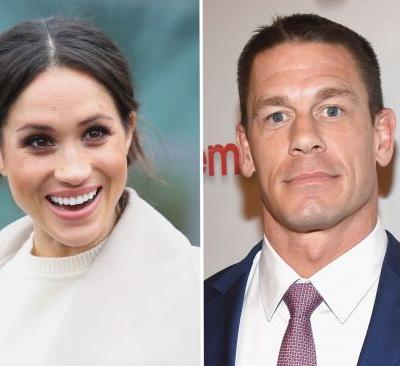 John Cena is totally willing to walk Meghan Markle down the aisle: 'I can hop on a plane'