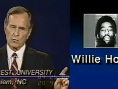 Watch George H.W. Bush Invoke Willie Horton By Name to Attack Opponent