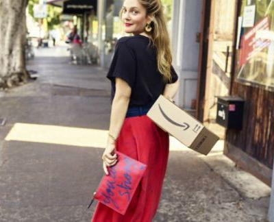 Drew Barrymore Designed a Clothing Line For Amazon Fashion And It's So Her