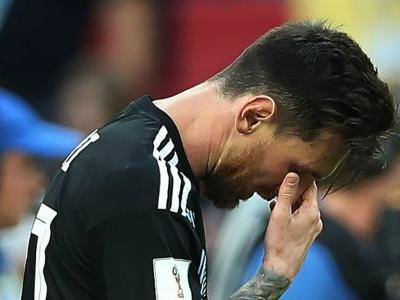'Messi is human' - Aguero supports Argentina star after penalty miss