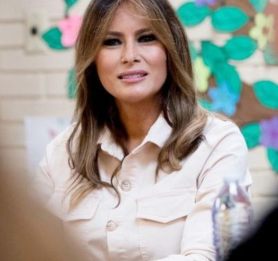"Melania Trump Wears ""I Don't Really Care"" Jacket On The Way To Visit Kids At The Border"