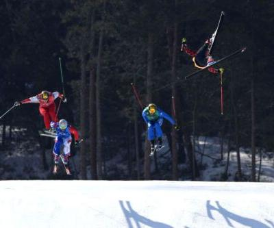 Canadian wins gold in skicross after teammate injured in earlier crash
