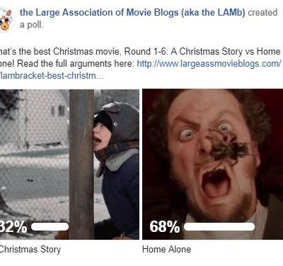 LAMBracket: Best Christmas Movie Round 1-6 Results