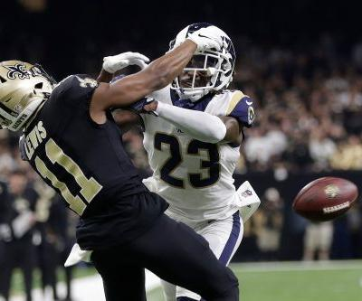 Controversial, unreal no-call brings Saints-Rams into overtime