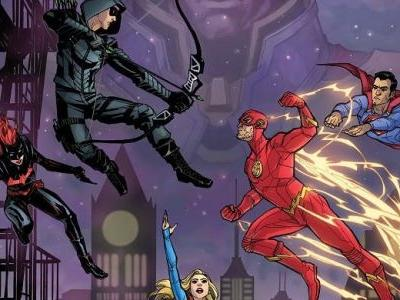 Arrowverse Elseworlds Crossover Gets Cool Comic Book-Style Artwork