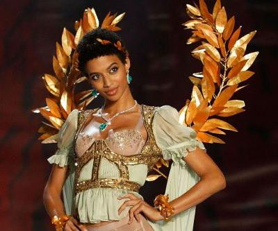Jourdana Phillips' has 'existential crisis' before Victoria's Secret Fashion Show