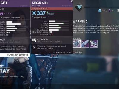 What Weapon to Choose from Ana Bray in Destiny 2