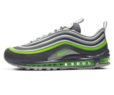"""Nike Reworks Air Max 97 Utility in """"Thunder Gray/Electric Green"""""""