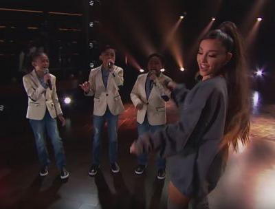 The Video Of Ariana Grande Surprising The TNT Boys During A Performance Will Make You Happy