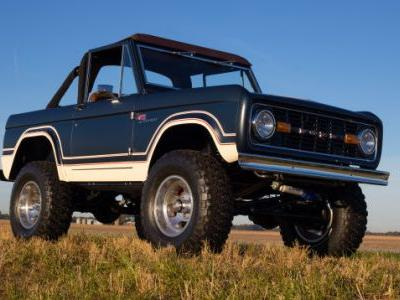 An Illinois Company is Building Brand New Ford-Licensed First-Gen Broncos