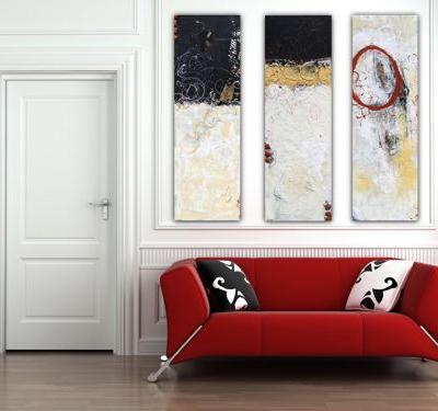 """Contemporary Abstract Expressionist Painting """"THE SERIES: HISTORY NOTES"""" by Abstract Artist Pamela Fowler Lordi"""