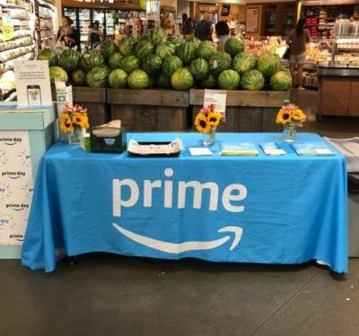 We stopped by Whole Foods' first Prime Day with Amazon