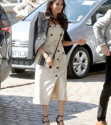 Meghan Markle's Latest Photos Prove She Knows How To Nail Crisp Spring Style
