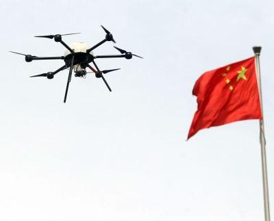 WATCH: China using talking drones to scold citizens who don't wear masks during virus outbreak
