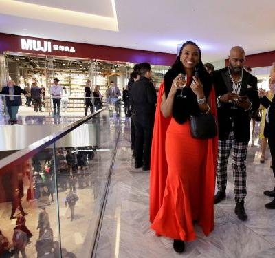 Inside the star-studded opening of the Shops at Hudson Yards, where A-listers including Anne Hathaway and Whoopi Goldberg came to see NYC's new $25 billion neighborhood