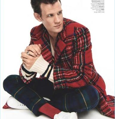 Clash of the Tartans: Matt Smith Inspires in British GQ Shoot