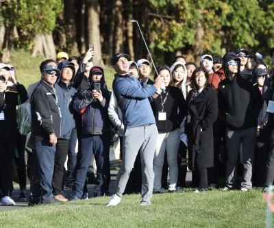Koepka keeps alive chance for top spot, leads by 4 in SKorea