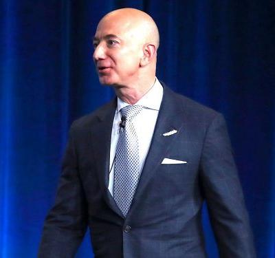 Jeff Bezos says Amazon is ready for a debate about regulation after Donald Trump's repeated attacks on the company