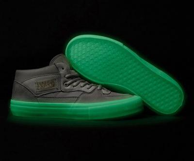The Pyramid Country x Vans Half Cab Pro Glows in the Dark