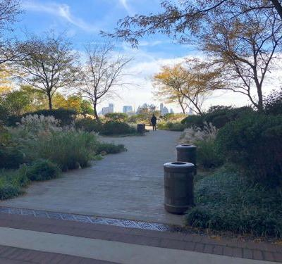 I visited a secluded park on top of a garage in downtown Manhattan, and it's clear why the acre of green is one of New York's best-kept secrets