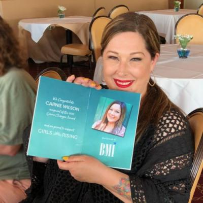 News: BMI Singer/Songwriter Carnie Wilson Honored at Girls Rising Game Changer Award