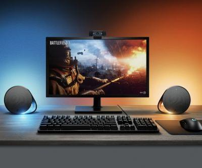 Logitech expands its gaming lineup with new LED-equipped speakers