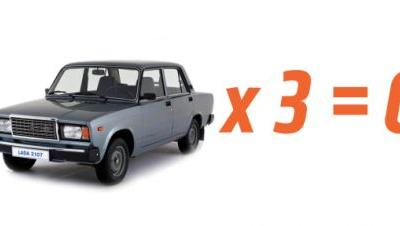 Guy Reportedly Tries to Steal Three Ladas, All Three Break Down