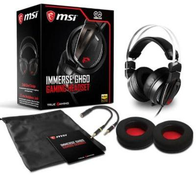 MSI Immerse GH60 Gaming Headset And Vigor GK40 Combo Unveiled